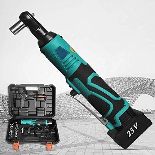 2020 Cool MxZas Électrique Clé à cliquet, Ensemble sans Fil de Fonction réversible Ing, avec Chargeur Batteries au Lithium-ION Jzx-n  1bwZk