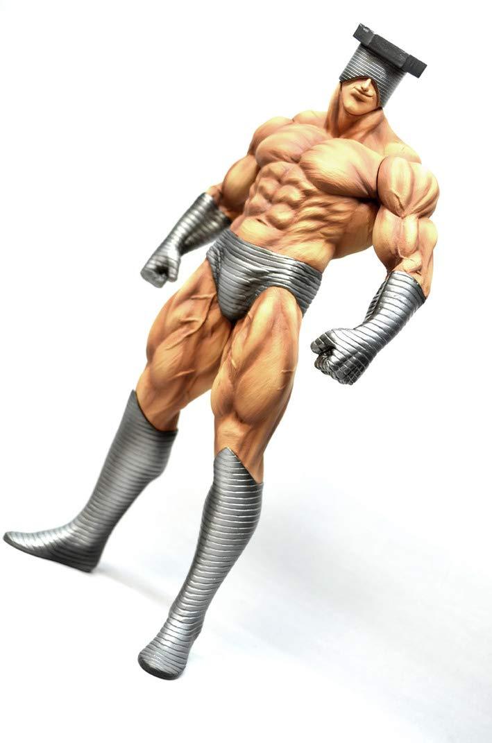 CCP キン肉マン Muscular Collection NO.8 スクリューキッド 原作カラー 約210mm PVC製 彩色済み完成品フィギュア B07H4SK3LC