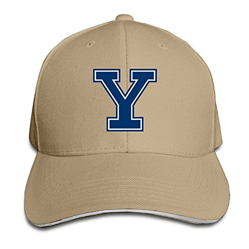 Baseball University Yale (Yale University Logo Fight Song Snapback Hat Style Sandwich Cap)