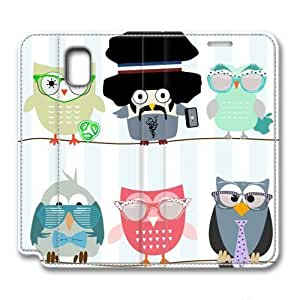 iCustomonline Leather Case for Samsung galaxy Note 3, Funny Birdy Stylish Durable Leather Case for Samsung galaxy Note 3 hjbrhga1544
