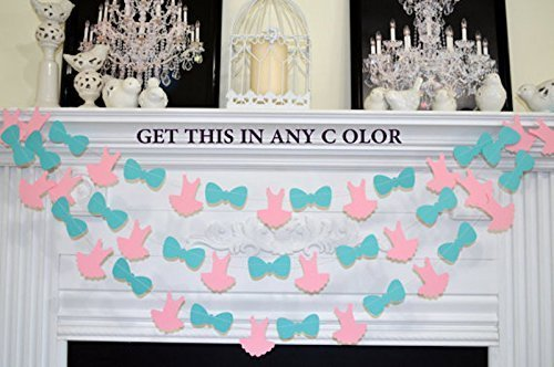 Tutus Or Ties, Boy Or Girl We Love You, Baby Shower Decorations, Tutu