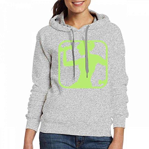 Des Femmes Des T-shirts Hoodies Personnalisé Muscle Du Sport Femme Hoodies Simples Sweat Gris