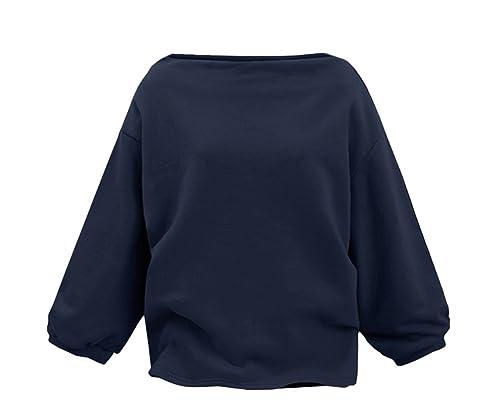 Sudadera con Capucha Para Mujer Otoño Blusa Tops Gran Tamaño Sweatshirt