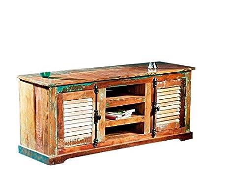 Mobili In Legno Riciclato : Mobili tv in legno riciclato amazon casa e cucina
