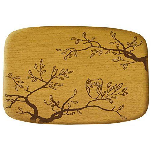 Talisman Designs 2410 Talisman Get Real Beechwood Cheese Board, Nature Design, Brown