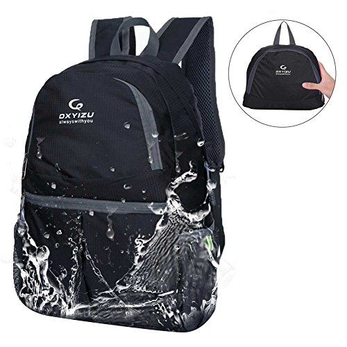 Price comparison product image UNIQUEBELLA Lightweight Backpack Waterproof Foldable Ultralight Daypack 20L Water Resistant Collapasible Trekking Backpack for Hiking, Traveling, Camping,for Women, Men & Kids