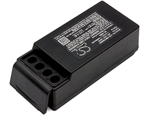 Cameron Sino Replacement Battery for Cavotec M9-1051-3600 EX, MC-3, MC-3000 (3400mAh)