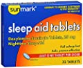 Sunmark Sleep Aid, 25 mg, 32 tabs