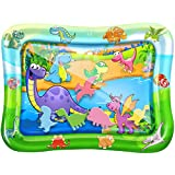Tummy Time Baby Water Play Mat – Inflatable Infant Toy Mat for Infant, Baby, Toddler, Boy and Girl, Fun Activity Center for 3/6/9 Months' Newborns, Perfect Gift Stimulates Baby's Growth
