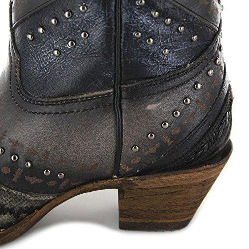 Fb Mode Laarzen Laarzen Laarzen Kraal A3355 Grijs Borduren & Studs / Laarzen Voor Dames Grijs / Dames Schoenen / Dames Laarzen Grijs