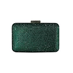 Women's Large Crystal Clutch