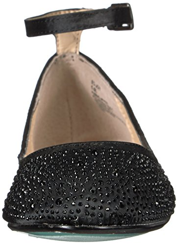 Blauw Door Betsey Johnson Dames Sb Joy Ballet Plat Zwart