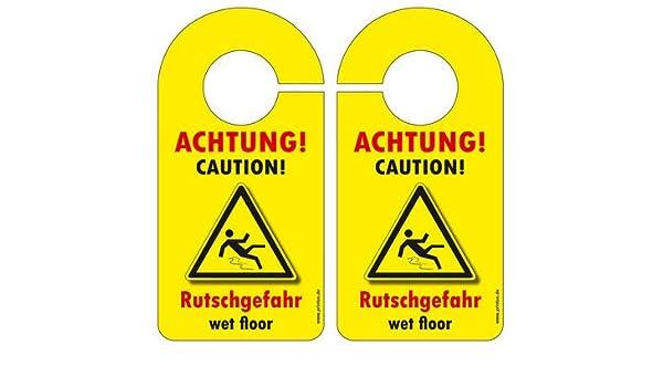 10 pieza Puerta Cartel Cartel advertencia Peligro de ...