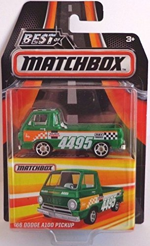 - 2016 Best of Matchbox Series 1 Limited Edition - '66 Dodge A100 Pickup with Rubber Tires!