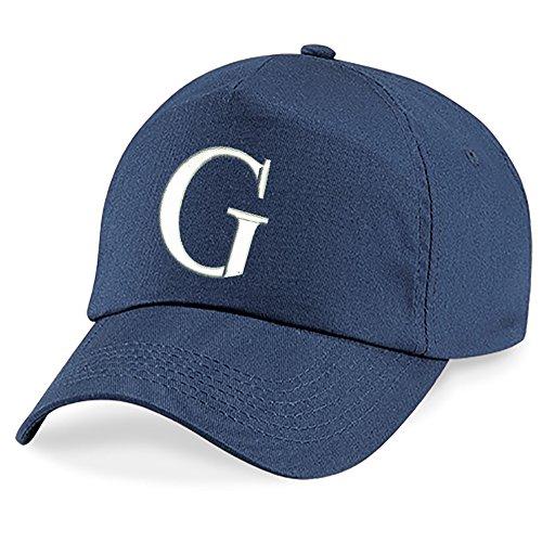 Bonnet Cap Fille Casquette Alphabet z 4sold Enfants G Baseball A Marin Garcon Unisexe Bleu Chapeau 1tSq1wR0B
