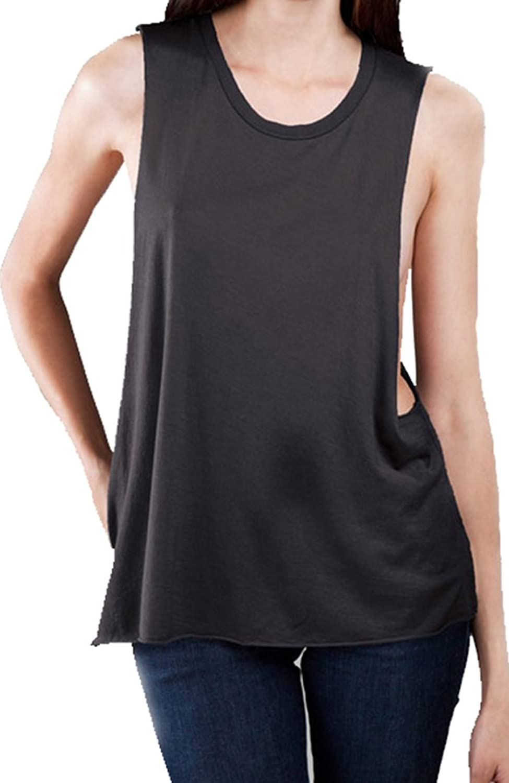 Buy Cool Shirts Womens Deep Side Cut Muscle Tank Top