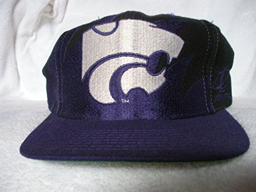 Kansas State Sharktooth Snapback Hat by Logo Athletic