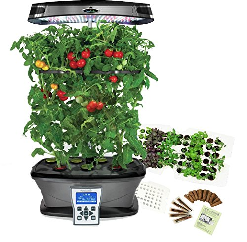 Great new LED Technology Miracle-Gro AeroGarden ULTRA LED with Gourmet Herb Seed Kit and Seed Starting System by AeroGrow