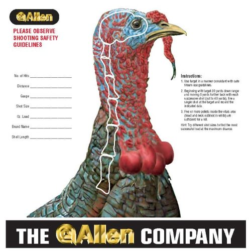 Allen Turkey Sight-In Target (Pack of 12) (Paper Turkey Targets compare prices)