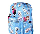 Disney Frozen Canvas Full Size Backpack Ana Elsa Olaf