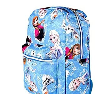 Official Disney 3D Frozen Olaf Small Rucksack Backpack Girl School bag Blue