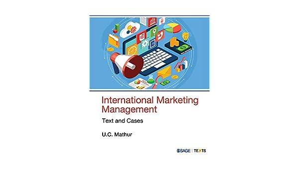 International Marketing Management Book