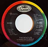 a hard day's night / i should have known better 45 rpm single