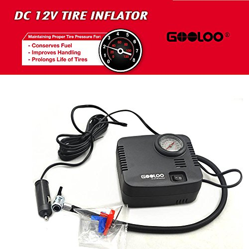 Gooloo 300psi Tire Inflator Premium Electric 12v Dc
