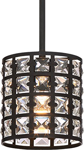 Luxury Crystal Hanging Pendant Light, Small Size: 7.5