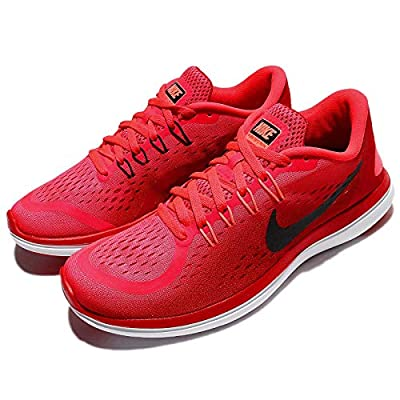 Nike Womens Wmns Flex 2017 RN, Solar Red/Black-University Red, 12 by Nike