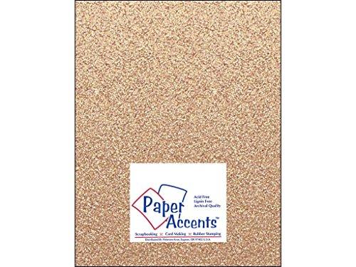 Accent diseño papel Acentos adp8511–15.g34Nº 8521,6x 27,9cm Arena Glitter Cartulina