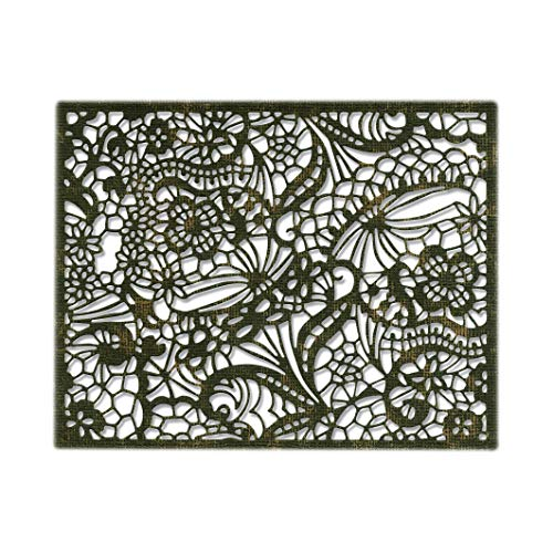 Sizzix 664181 Intricate Lace Dies, - Lace Die