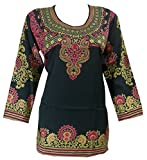 Panini Impex Printed Tunic Kurti Top Traditional India Clothing