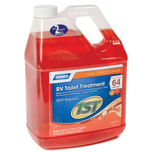 camco-41197-tst-orange-holding-tank-chemical-1-gallon