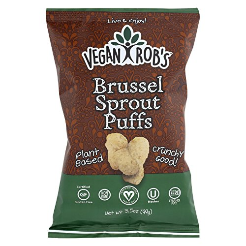 (Veganrobs Puff Brussel Sprout, 3.5 oz)