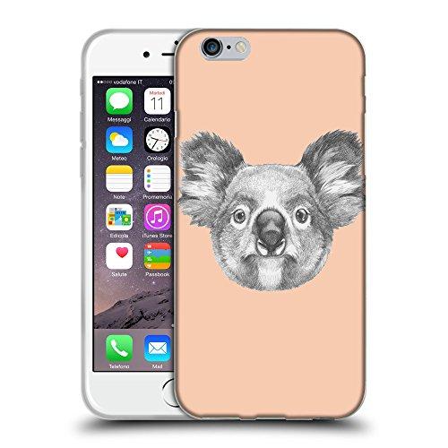 "GoGoMobile Coque de Protection TPU Silicone Case pour // Q05150604 Dessin koala Abricot // Apple iPhone 6 PLUS 5.5"""