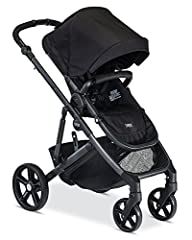 Britax's B Ready G2 is the ultimate stroller for families with ever changing needs. The modular design has an adjustable handlebar height and 12 seating options to adapt to your family's needs with multiple seats, a bassinet or infant car sea...