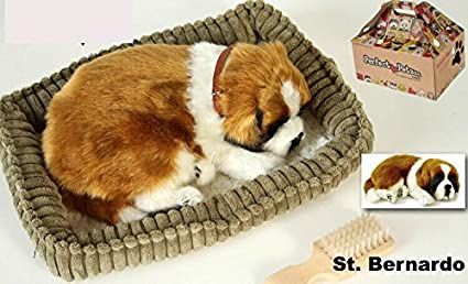 Perfect Petzzz - Cachorro Perro San Bernardo Soft Body [Toy] respira de peluche