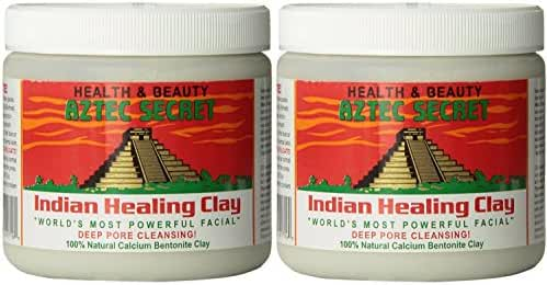Aztec Secret Indian Healing Clay Deep Pore Cleansing, 1 Pound (Pack of 2) by Aztec Secret