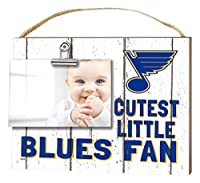 "KH Sports Fan 10""x8"" St. Louis Blues Clip It Weathered Baby Logo NHL Photo Frame"