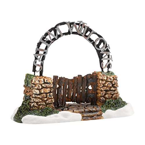 Department 56 New England Village Salem Willows Gate Accessory, 1.97 - Willow Bend Shop