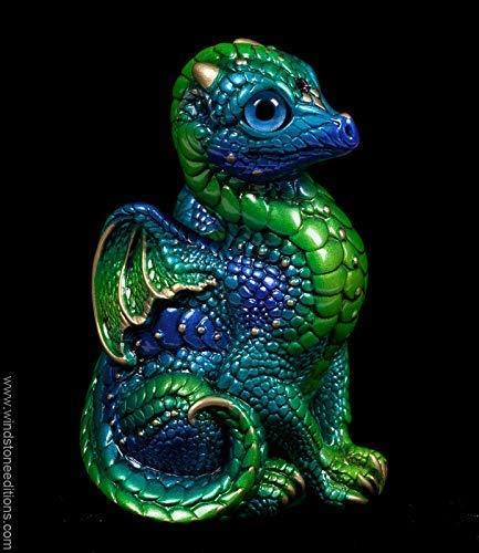 (Baby Dragon - Emerald Peacock)