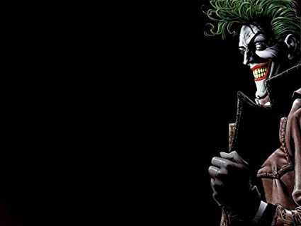 Posterhouzz Comics Batman Joker HD Wallpaper Background Fine Art Paper Print Poster ABO841