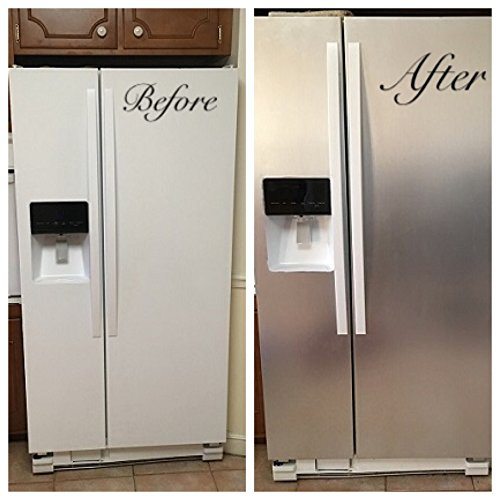 Like Contact Paper Refrigerator Cover Satin Finish