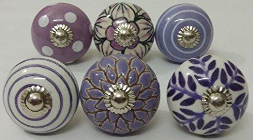 purple cabinet knobs - 4