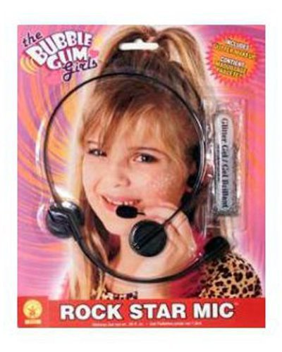 Rock Star Head set by Rubie's -