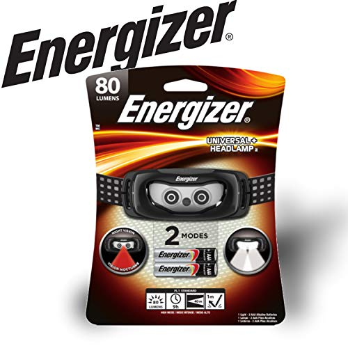 Energizer LED Headlamp Flashlight, Ultra Bright High Lumens, for Camping, Running, Hiking, Sports, Outdoors
