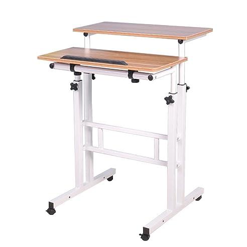 computertischeinstellbare hhe und removable stand up table laptoptisch notebook computer schreibtisch druckertisch - Computertische Fr Zuhause
