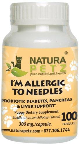Amazon.com: Natura Petz I m alérgico al Agujas Probiótico ...