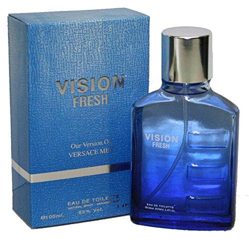 Vision Fresh Eau Fraiche Men Perfume 3.4 oz Eau de Toilette (Imitation)